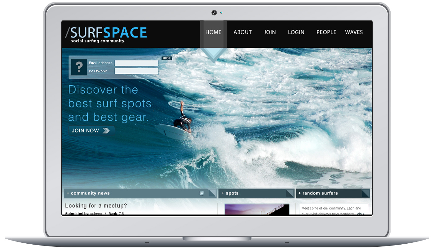 Surf Space Project Image