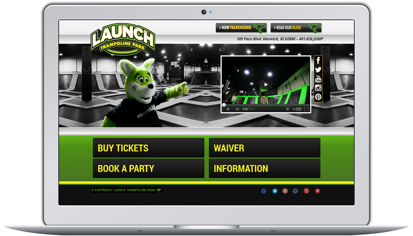Launch Trampoline Park Project Image