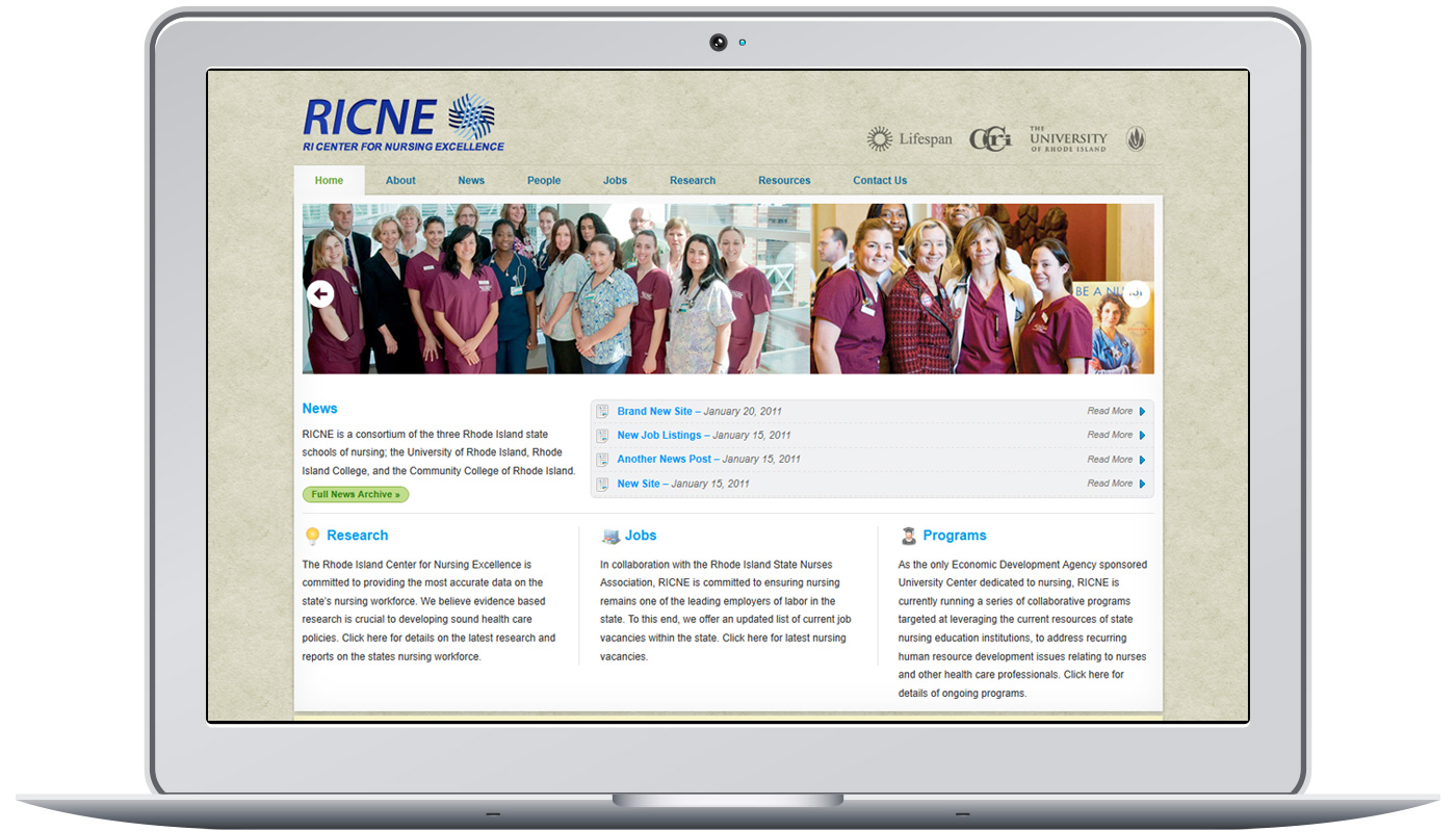 RI Center of Nursing Excellence Project Image